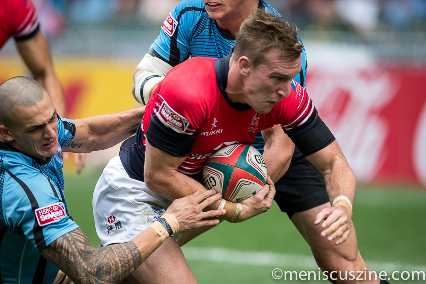 Hong Kong in action 2015 Rugby 7s