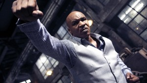 "Mike Tyson gets ready for battle in Wilson Yip's ""Ip Man 3."" (still courtesy Well Go USA)"