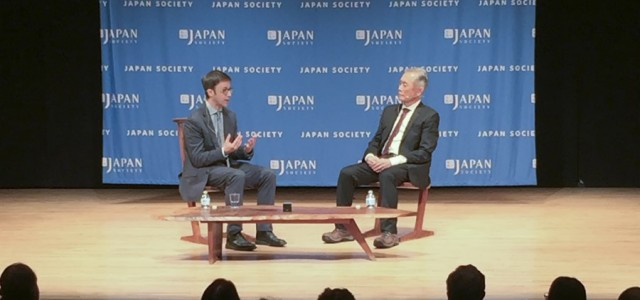 """Allegiance"" star George Takei appeared at the Japan Society to recount the impact of his experience at the post-Pearl Harbor internment camps."