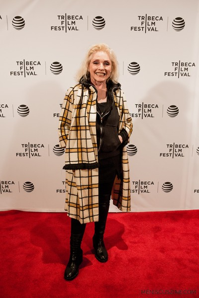 "Debbie Harry at the world premiere of ""Check It."" (photo by Ekaterina Golovinskaya / Meniscus Magazine)"
