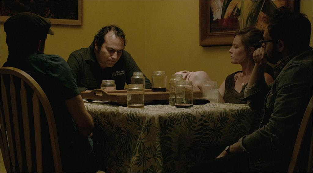 "A scene from ""Actor Martinez,"" which results in a hybrid documentary and feature film. According to an official statement, """"Actor Martinez"" explores the distinction between performance and life, and the relationship between subject and director. Directors Ott and Silver become characters in the film; as they wrestle with Arthur for control of the project it becomes less clear who is manipulating whom."" (still courtesy of Brigade Marketing)"