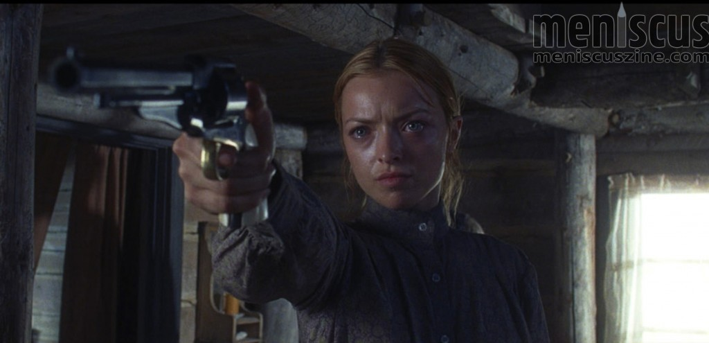 "Francesca Eastwood in ""Outlaws and Angels."" (still courtesy of the Fantasia International Film Festival)"