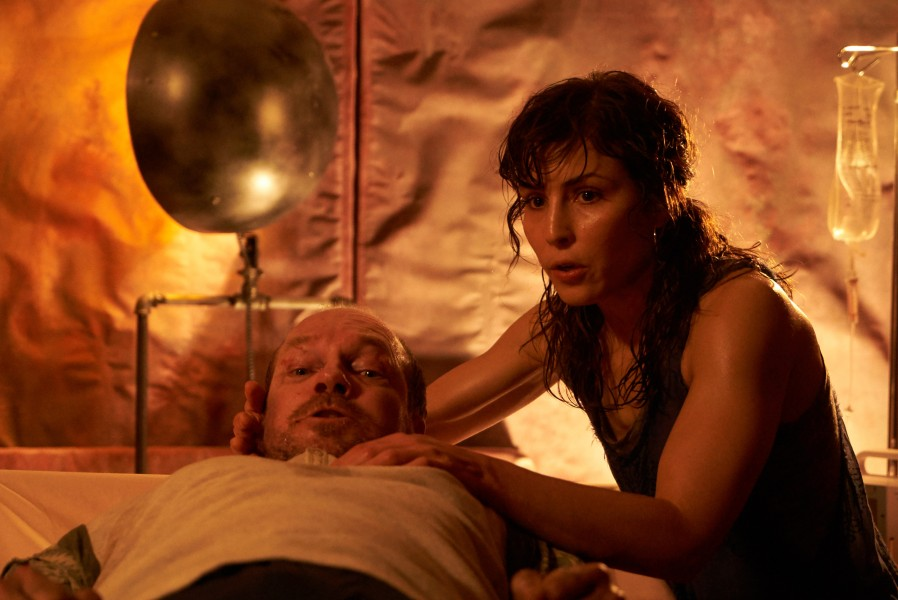 "Noomi Rapace (right) in ""Rupture."" (still courtesy of the Fantasia International Film Festival)"