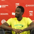 Meniscus asks Gaël Monfils about the difference between the courts in Washington, D.C. - where he won the Citi Open last week - and Toronto.