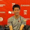 Meniscus asks Kei Nishikori about his change in strategy during his 6-3, 3-6, 6-2 victory over Grigor Dimitrov in Toronto.