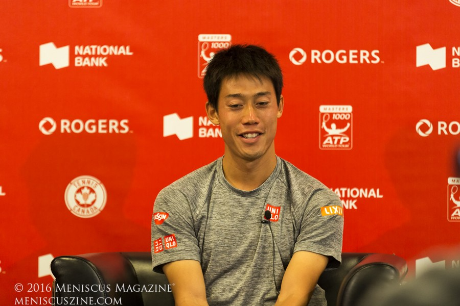 Kei Nishikori is still searching for his first ATP World Tour Masters 1000 title. (photo by Kwai Chan / Meniscus Magazine)