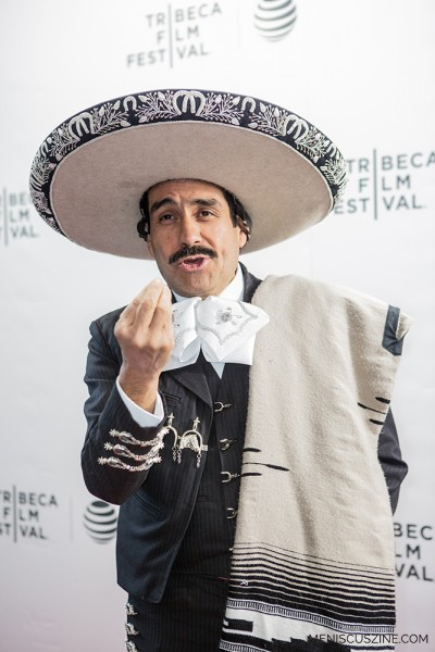 """Agustin Jaime Garcia Dominguez, the main subject of """"The Charro of Toluquilla."""" According to a description issued by the Tribeca Film Festival, he is """"the quintessential macho Mariachi. With a life full of women, alcohol and music, his evenings are spent as a charming, talented troubadour at local watering holes and his days on the ranch, blissfully caring for his beloved horses. But despite his wild tales and bawdy persona, a sense of weariness slowly surfaces in the mundane in-between moments of Jaime's everyday existence."""" (photo by Ekaterina Golovinskaya / Meniscus Magazine)"""