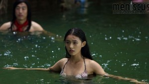 """Jelly Lin as Shanshan, the title character of Stephen Chow's """"The Mermaid."""" (still courtesy of the New York Asian Film Festival / Chao Deng as Liu Xuan in """"The Mermaid."""" (still courtesy of the New York Asian Film Festival / MEI REN YU (MERMAID) © 2016 Richname Limited (BVI). All Rights Reserved.))"""