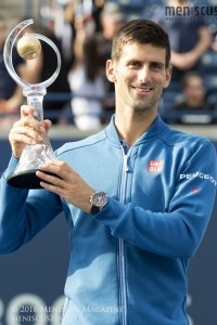 Novak Djokovic is now 30-13 in ATP Masters 1000 finals. (photo by Kwai Chan / Meniscus Magazine)