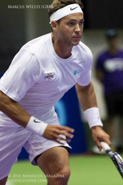 Marcus Willis in action for the New York Empire. (photo by Kwai Chan / Meniscus Magazine)