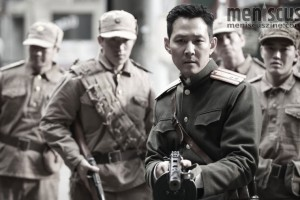 "Lee Jung-jae in John H. Lee's ""Operation Chromite."" (still courtesy of CJ Entertainment)"
