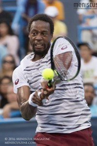 2016 Citi Open champion Gaël Monfils is now 6-19 in ATP singles finals. (photo by Kwai Chan / Meniscus Magazine)