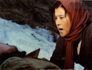 "Choi Eun-hee in a scene from ""Salt,"" one of the films Choi and director Shin Sang-ok made while in captivity in North Korea, included in ""The Lovers and the Despot."" (still courtesy of Magnolia Pictures)"
