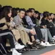 A number of stars, led by Yoo Ah-in (유아인) watched the university-themed Nohant Spring 2017 runway show.