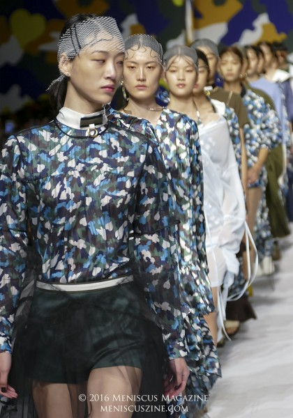 The finale of the YCH Spring 2017 show. (photo by Yuan-Kwan Chan / Meniscus Magazine)