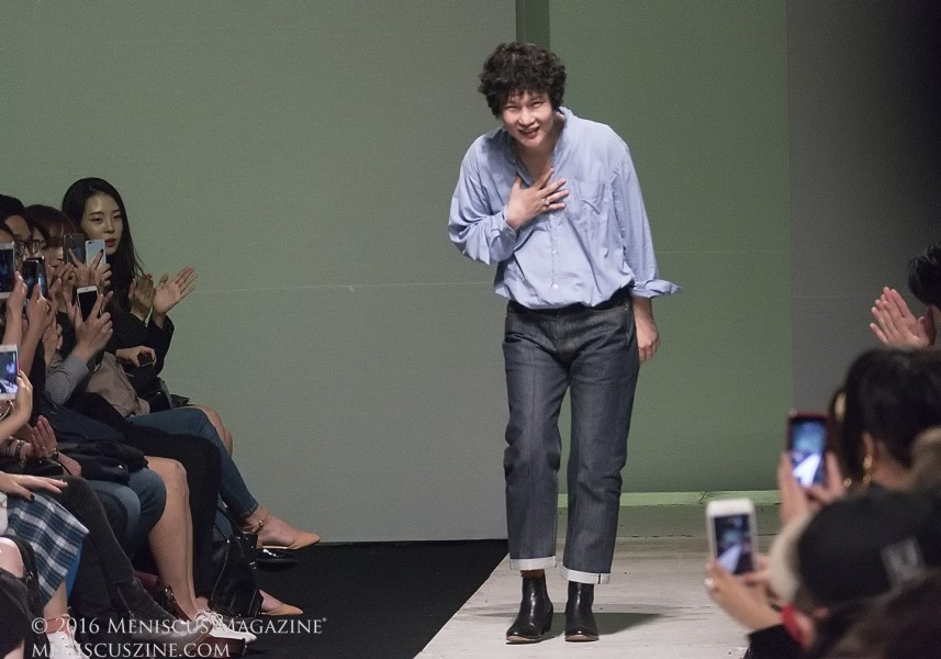 pushBUTTON designer Park Seung-gun (박승건). (photo by Yuan-Kwan Chan / Meniscus Magazine)