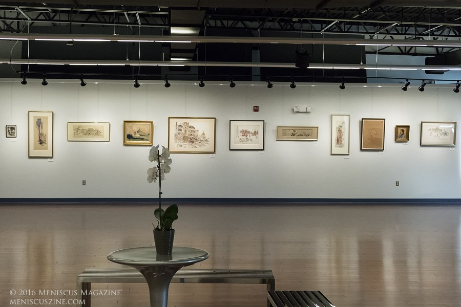 The Dora Fugh Lee; Retrospective of Seventy Years in Art took place from Sep. 24 to Nov. 5, 2016, at the CCACC Art Gallery in Gaithersburg, Md. (photo by Kwai Chan / Meniscus Magazine)