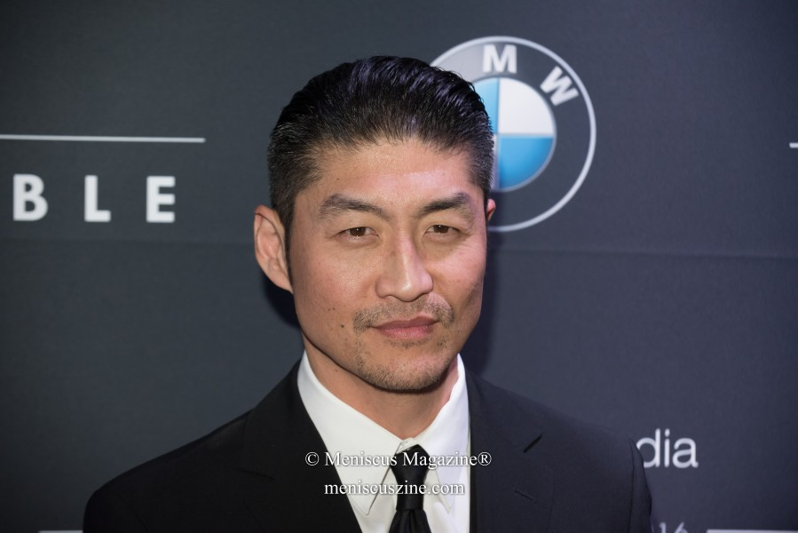 Brian Tee, who plays Dr. Ethan Choi in the television series Chicago Med. (photo by Ali Zandi for Meniscus Magazine)