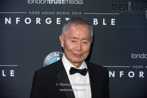 George Takei at the 2016 Unforgettable Gala in Beverly Hills. (photo by Ali Zandi / Meniscus Magazine)
