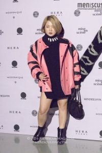 Seoul Fashion Week-Spring-2017_KIMMY.J red carpet_Park Na-rae_161022_15