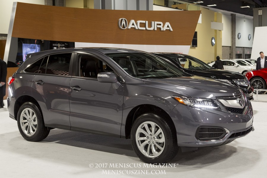 The Acura RDX. (photo by Kwai Chan / Meniscus Magazine)