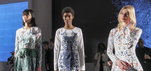 The Epson Digital Couture presentation featured 13 designers' capsule collections, created in collaboration with the printing company.
