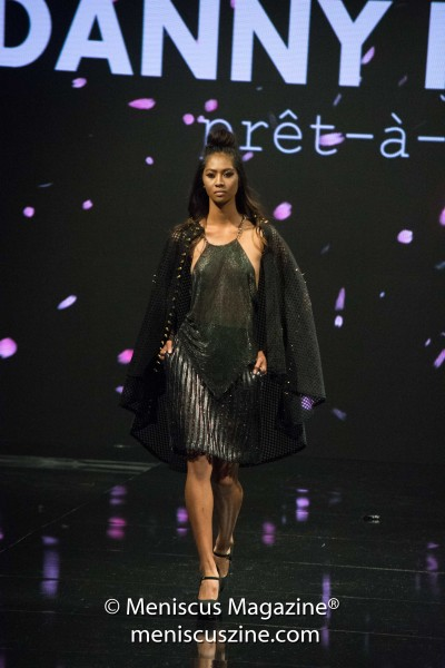 The Danny Nguyen Couture Fall 2017 collection was featured at Los Angeles Fashion Week as part of an Art Hearts Fashion collective show with Hale Bob and Dair by Odair Pereria. (photo by Ali Zandi / Meniscus Magazine)