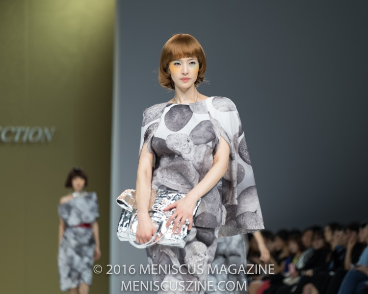 Sophistication and determination at the Miss Gee Collection Spring 2017 show at Seoul Fashion Week. (photo by Ryan Bentley / Meniscus Magazine)