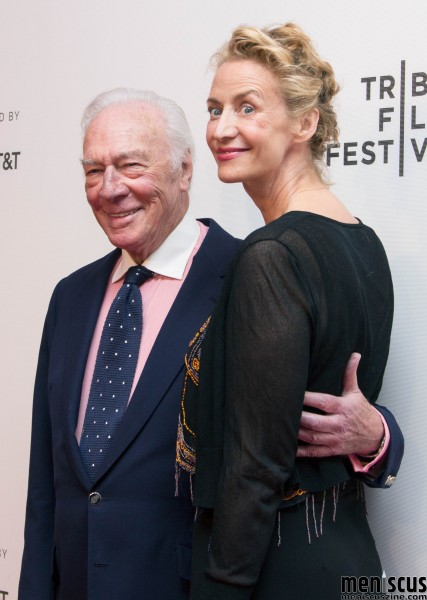 Actors Christopher Plummer (left) and Janet McTeer. Plummer plays Kaiser Wilhelm II, an exiled German Monarch in Holland. His character is investigated as a potential spy while the Nazis enter the country during the beginning of World War II. McTeer plays Princess Hermine 'Hermo' Reuss of Greiz. (photo by Yanek Che / Meniscus Magazine)