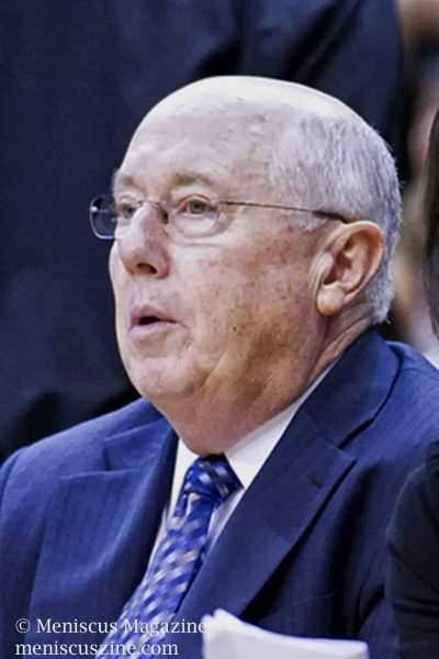 Washington Mystics Head Coach Mike Thibault (photo by Kwai Chan / Meniscus Magazine)