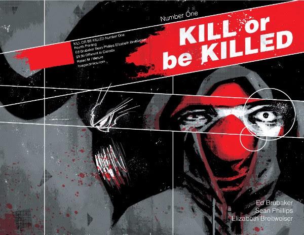 Kill or be Killed Vol. 1 (courtesy of Image Comics)