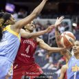 The Washington Mystics (3-2) are starting to gel as a team, much to the delight of the home crowd.
