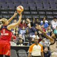 In the first game of Washington's 2017 WNBA season, Elena Delle Donne and the Mystics defeated the San Antonio Stars, 89-74.