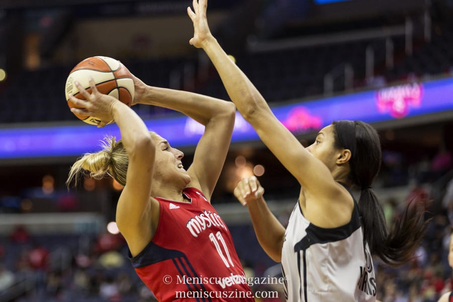 Led by newly-acquired Elena Delle Donne (left), the Washington Mystics hope to make a run to the WNBA championship title. (photo by Kwai Chan / Meniscus Magazine)