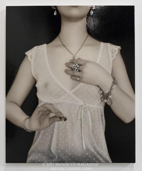 Artist: Sai Hashizume Accessories (2010) Oil on emulsionground 60.7 x 49.8 cm (photo by Yuan-Kwan Chan / Meniscus Magazine)