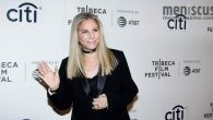Barbra Streisand briefly appeared on the red carpet prior to her Tribeca Talks: Storytellers panel with director Robert Rodriguez on Apr. 29.