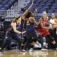 The Mystics (4-2) managed to pen a win even though they were playing poorly offensively, shooting just 35 percent for the game.