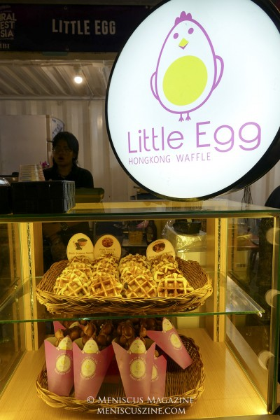 Featuring more than Hong Kong style egg waffles, Little Egg - founded in 2015 - delivers Hokkaido milk roll cakes and waffles to residences. (photo by Yuan-Kwan Chan / Meniscus Magazine)