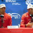 During their lone Washington Kastles home appearance, we asked the Bryan Brothers why their respective numbers of weeks at the top weren't identical.