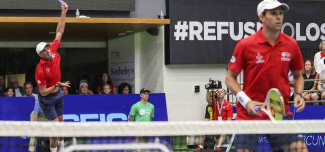 Washington's 23-16 victory improved their 2017 World TeamTennis win-loss record to 3-1.