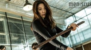 "Kim Ok-bin as Sook-hee in ""The Villainess."" (still courtesy of the Bucheon International Fantastic Film Festival)"