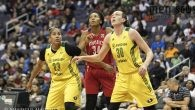 Both the Washington Mystics and the Seattle Storm had played magnificently, having tied 16 times with 21 lead changes.