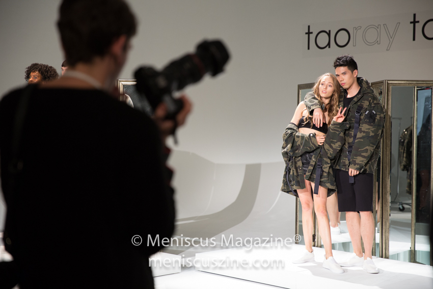 The taoray taoray Spring 2018 presentation at New York Fashion Week took place at Pier 59. (photo by Asya Danilova for Meniscus Magazine)