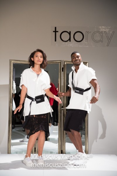 "According to the label's publicists, ""taoray taoray, the young line of [designer] Taoray Wang, is a fashion brand designed to cross boundaries of ages, gender, nationalities and occupations!"" (photo by Asya Danilova for Meniscus Magazine)"