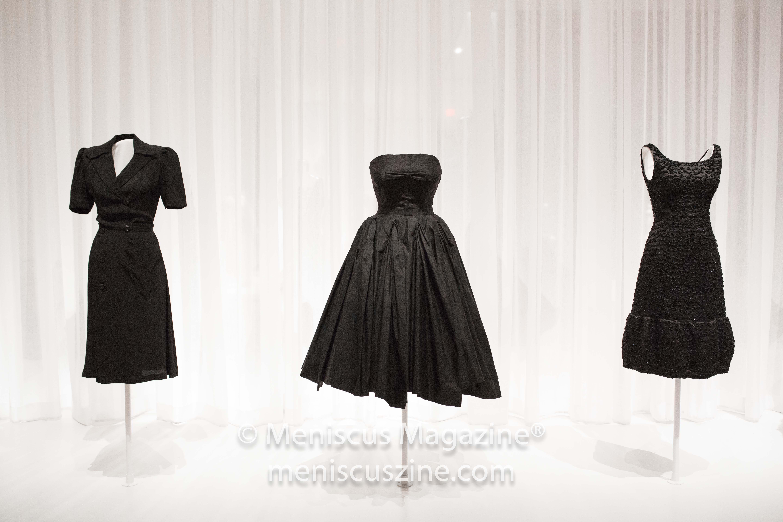 "A few takes on the ""little black dress."" (photo by Asya Danilova / Meniscus Magazine)"