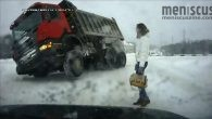 """An edited compilation of dashboard camera footage shot all around Russia, """"The Road Movie"""" affords viewers a way of peering into the country's collective psyche."""