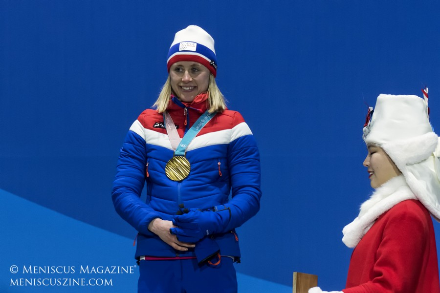 Competing in her first Winter Olympics, Ragnhild Haga celebrated her 27th birthday just three days before her victory in the cross country 10km freestyle event.