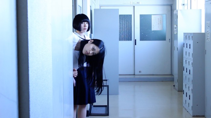 "Amiko (Aira Sunohara, left) and her friend Kanako (Maiko Mineo) in ""Amiko,"" which in addition to Hong Kong has screened at Berlin. (still courtesy of the Berlinale)"