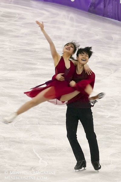2018 Winter Olympics - Free Dance - Bronze - Maia and Alex Shibutani (USA)_05