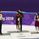 2018 Winter Olympics - Free Dance - Venue Ceremony - 20180220_01